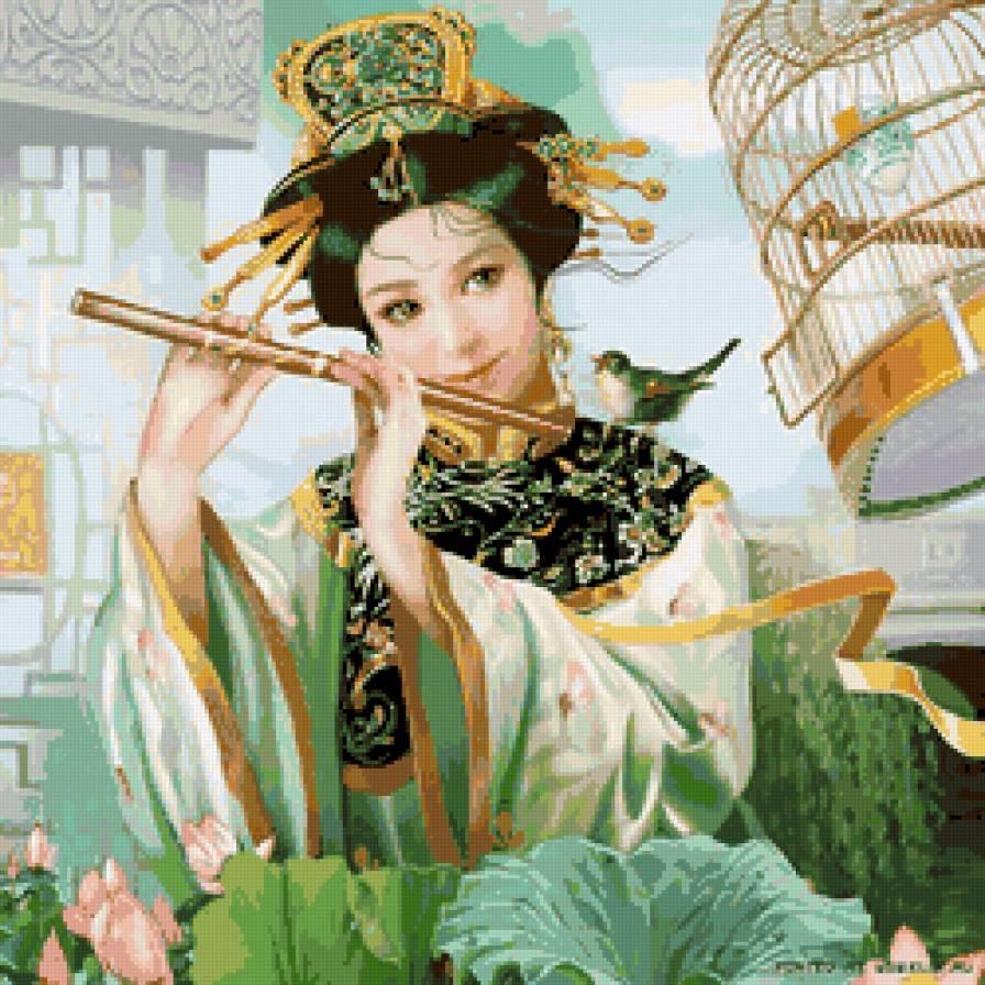 Вышивка в китае фото